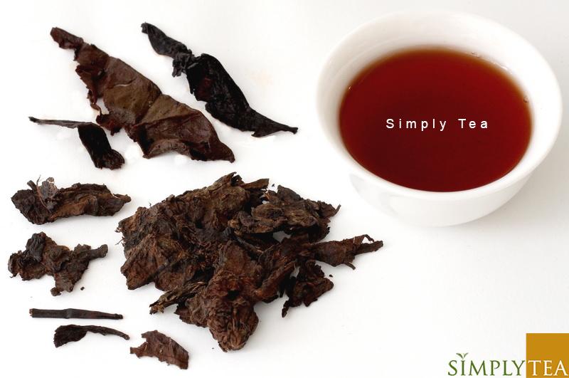 2007 Date Fragrance Loose Leaf Black Puerh