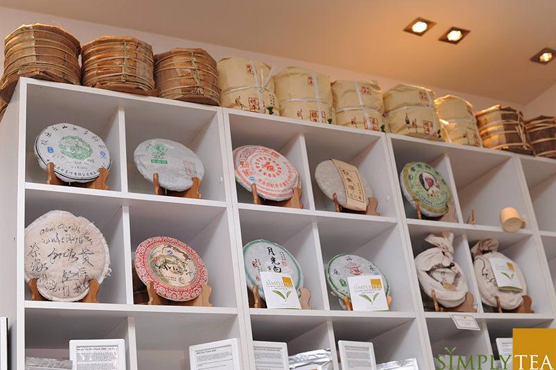puer kager fra Simply Tea pakket med syv styk i hver